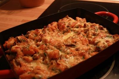 Gratin de butternut aux lardons exp rience pal o - Comment cuisiner une courge butternut ...