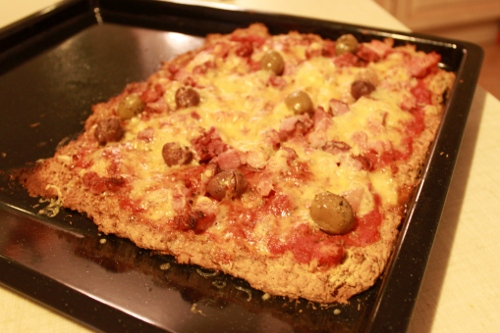 Pizza paléo