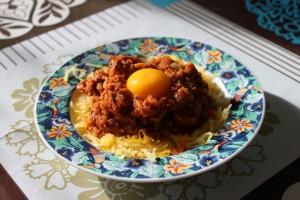 spaghetti bolognaise low carb et paléo