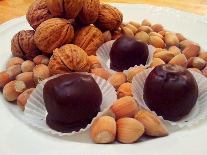 Truffes Chocolat Amande