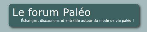 Un forum paléo en français