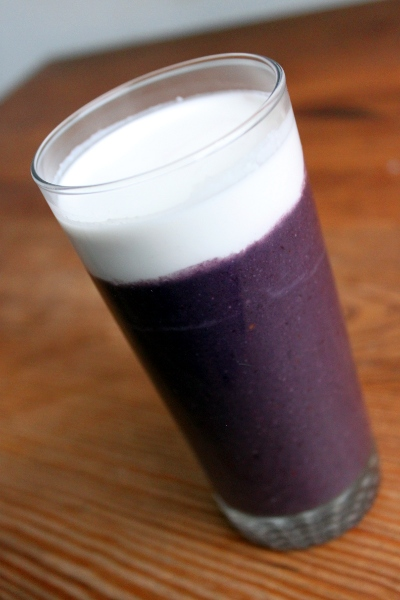 Smoothie antioxydant violet