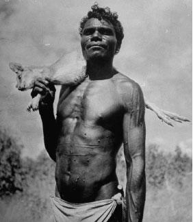 Photo d'un type qui ne prend pas de poudre