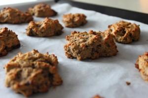 cookies farine de coco