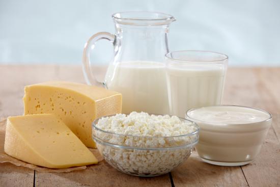 manger paleo produits laitiers