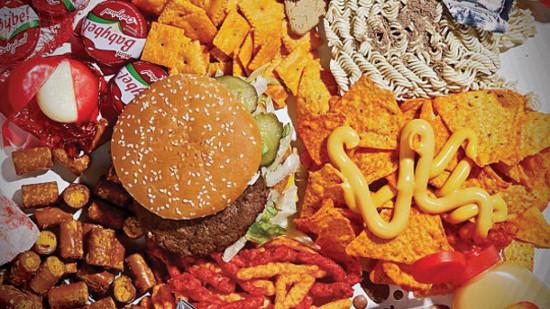 Manger paléo, c'est oublier la junk food