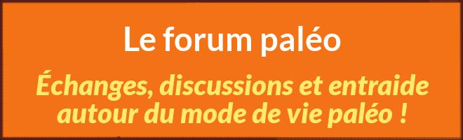 Forum régime paléolithique