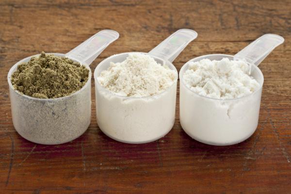 Protéines de whey et de chanvre