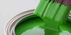 peinture verte